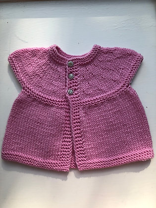 3-Button Baby Dress