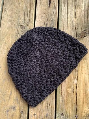 Large Simple Adult Crochet Hat