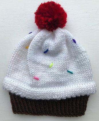 Cupcake Child's Hat