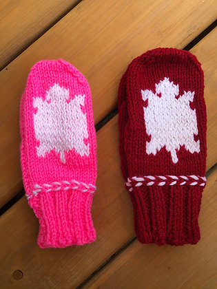Youth Turtle Mittens