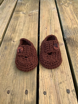 Strapped Baby Shoes