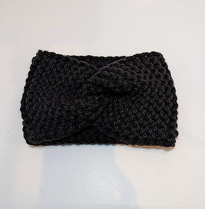 Garter Stitch Twisted Bulky Headband