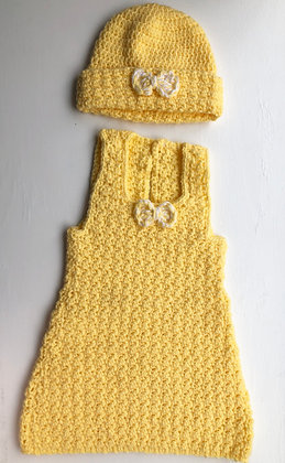 Two Piece Baby Dress Set