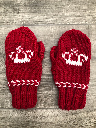 Child Crown Mittens