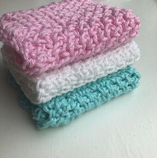 Sparkle dishcloths
