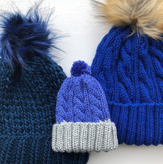 Blue hat selection
