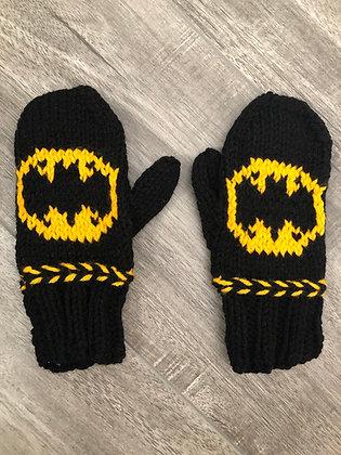 Child Batman Mittens