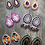 Thumbnail: Pink Purple & White Small Rounds