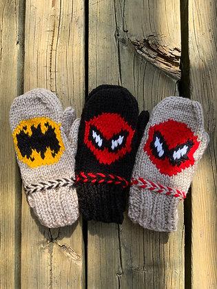 Child's Superhero Mittens