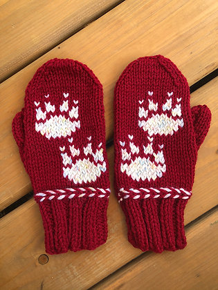 Youth Bear Paw Mittens