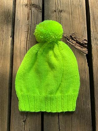 Adult Neon Pom Hat