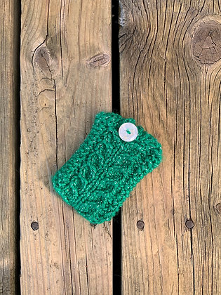 Glitter Knit Gift Card Holder