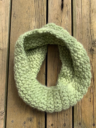 Double Seed Stitch Cowl