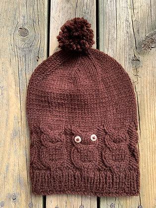 Adult Owl Hat