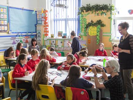 WWDFAS Story Tiles Workshop, Ysgol Wdig