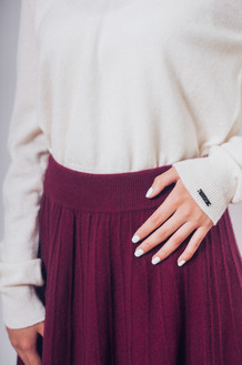 Cashmere look