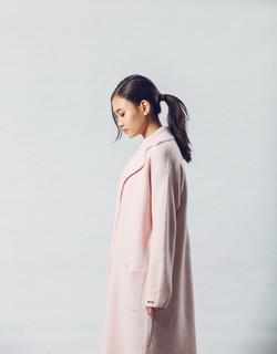 Organic Cashmere Coat