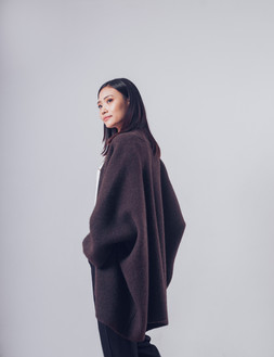 100% Yak Wool Free Size Coat
