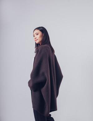 100% Yak Wool Free Size Coat