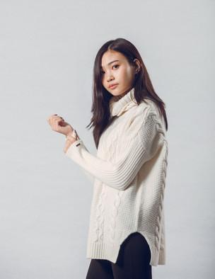 Organic Cashmere Sweater