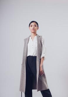 100% Yak Wool Sleeveless Coat