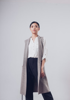 100% Yak Wool Sleeveless Coat