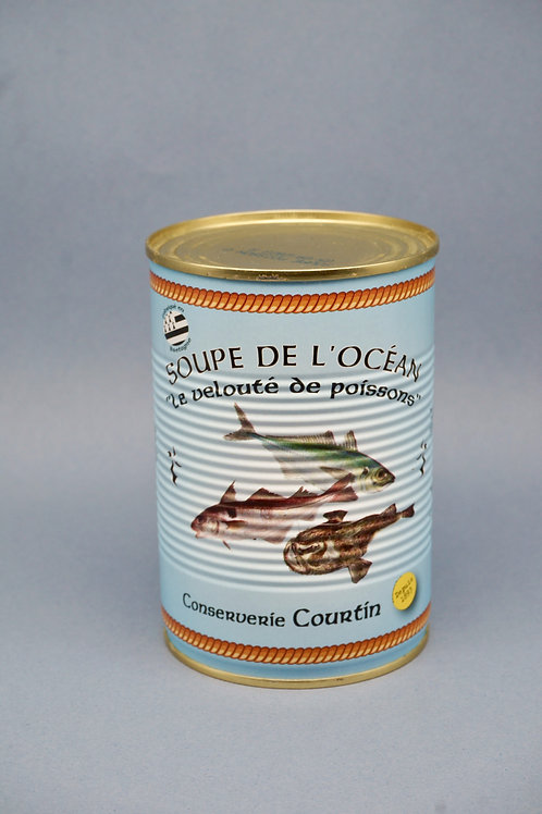 Fish Soup Can - Soupe de l'Océan - 400g