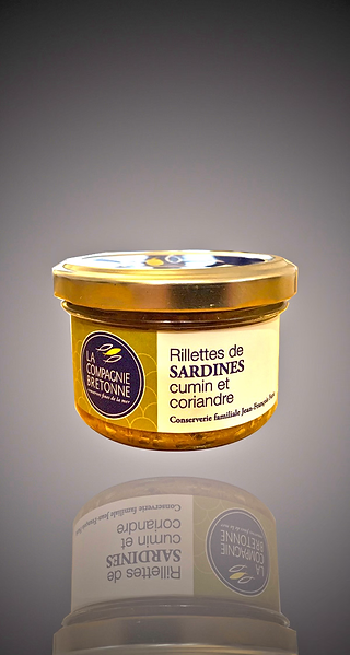 Cumin and Coriander Sardine Rillettes - Rillettes Sardines Cumin et Coriandre