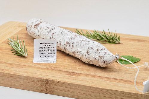 Natural Dry Saucisson - Saucisson Sec Pur Porc