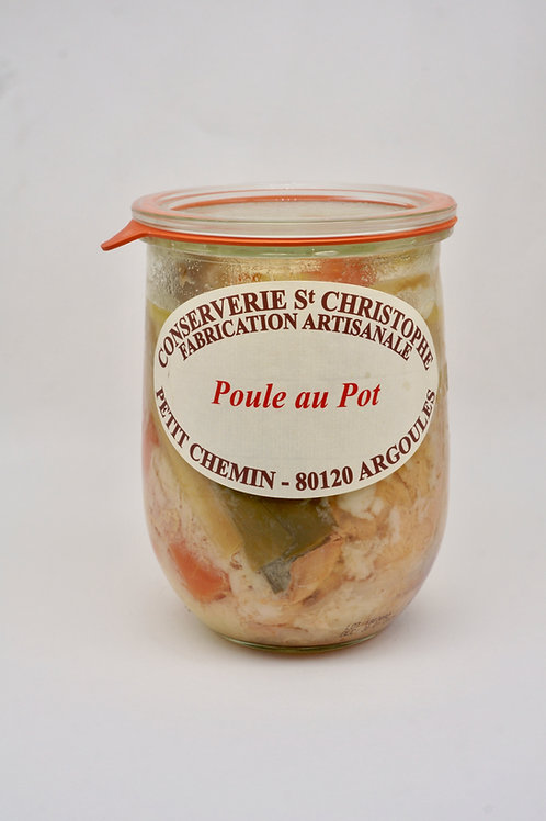 Slow Simmered Chicken with Vegetables - Poule au Pot - 900G