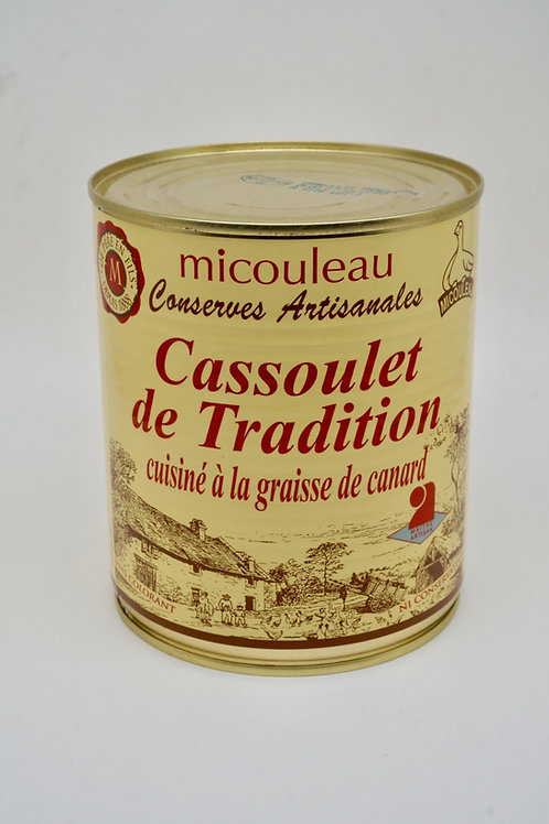 Traditional Cassoulet with Fat Duck- Cassoulet Tradition Graisse Canard  - 840G