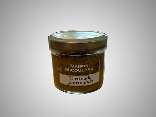 Green Olives & Anchovies Tapenade  - Tartinade gourmande - 90g