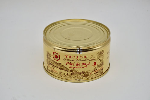 Country Pate with Green Pepper - Pâté de Pays au Poivre Vert - 200g