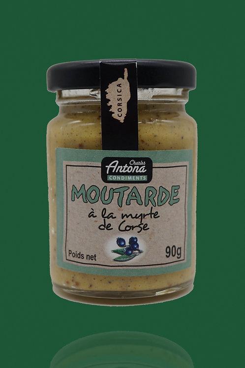 Corsican Myrtle Mustard - Moutarde à la Myrte de Corse - 90g