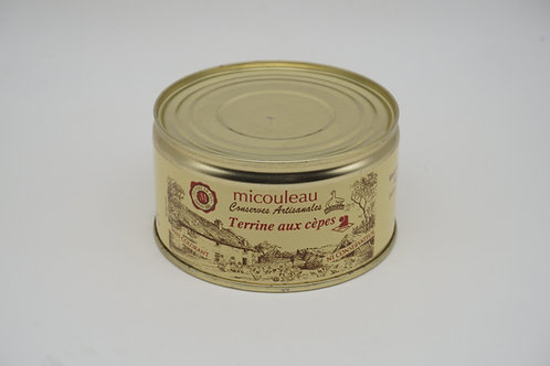 Terrine of Porcini Mushrooms - Terrine de Cèpes - 200g