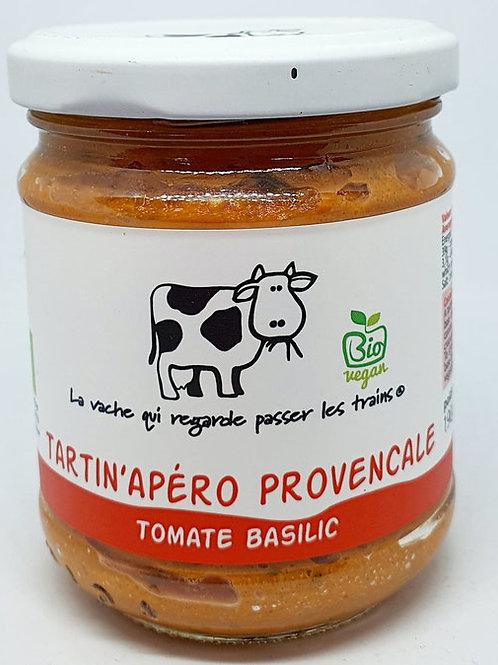 Tomato Basil Apero' Spread - Tartin' Apero Tomate Basilic, Organic -