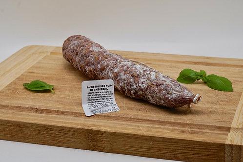 Dry Saucisson Pork & Venison - Saucisson Sec Pur Porc et Chevreuil