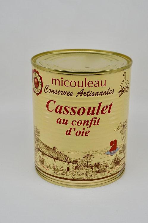 Cassoulet with Goose Confit - Cassoulet au Confit d'Oie - 840G