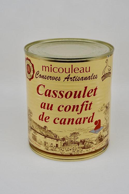 Cassoulet with Duck Confit - Cassoulet au Confit de canard - 840G