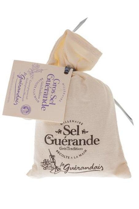 Guérande Coarse Salt Bag- Sachet Gros Sel de Guérande, 125g