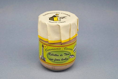 Tuna Rillettes with Herb - Rillettes de Thon aux Fines Herbes - 80g