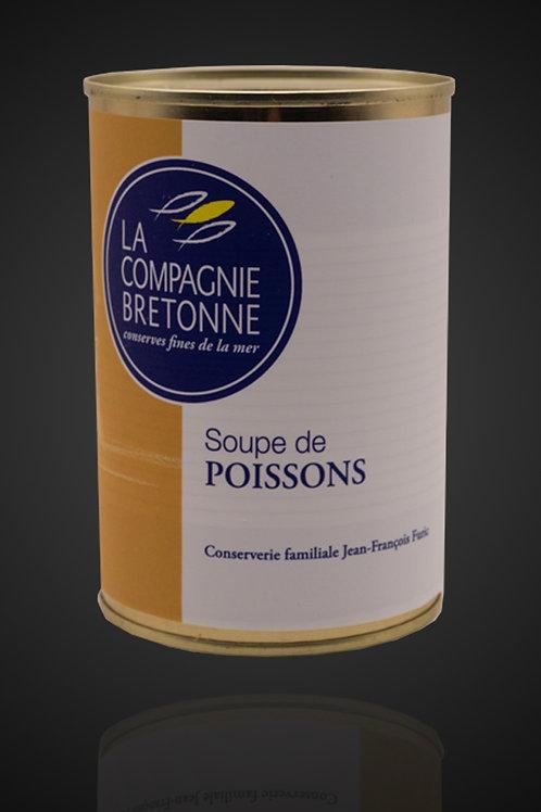 Fish Soupe Can - Soupe de Poisson - 404g