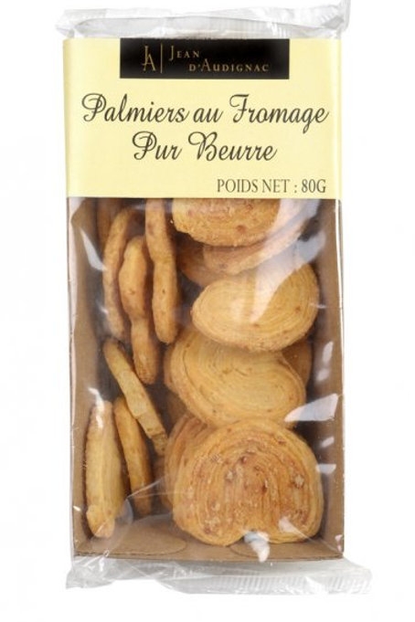 Cheese Crackers - Palmiers au Fromage Pur Beurre