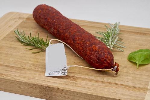 Smoked Pork Saucisson - Saucisson Pur Porc Fumé au Bois de Hêtre