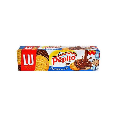 Lu Pepito Milk Chocolate - Biscuits Chocolat au Lait Pepito - 200G