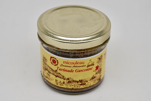 Black Olives & Anchovies Tapenade  - Tartinade Gasconne - 90g