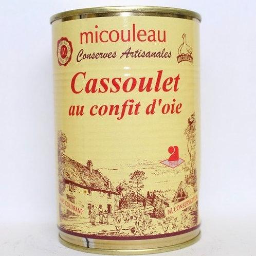 Cassoulet with Goose Confit - Cassoulet au Confit d'Oie - 420G