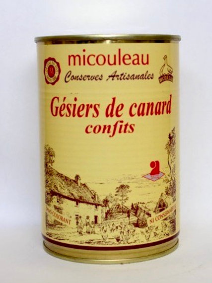 Duck Gizzards - Gésiers de Canard - 400G