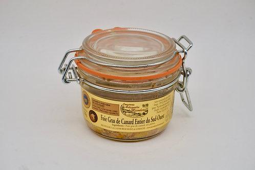 Preserved Whole Duck Foie Gras Jar - Foie Gras de Canard Entier du Sud-Ouest