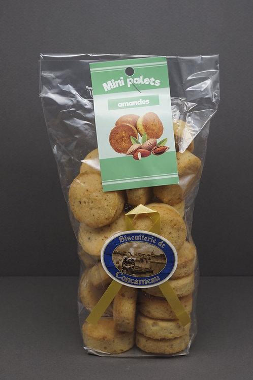 Almond Mini Pucks - Sachet Mini-Palets Amande